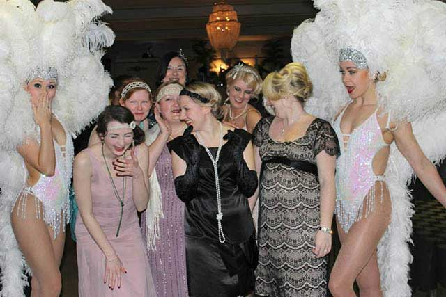 1920s Art Deco Party at The Arlington Ballroom, Southend-on-Sea, Essex