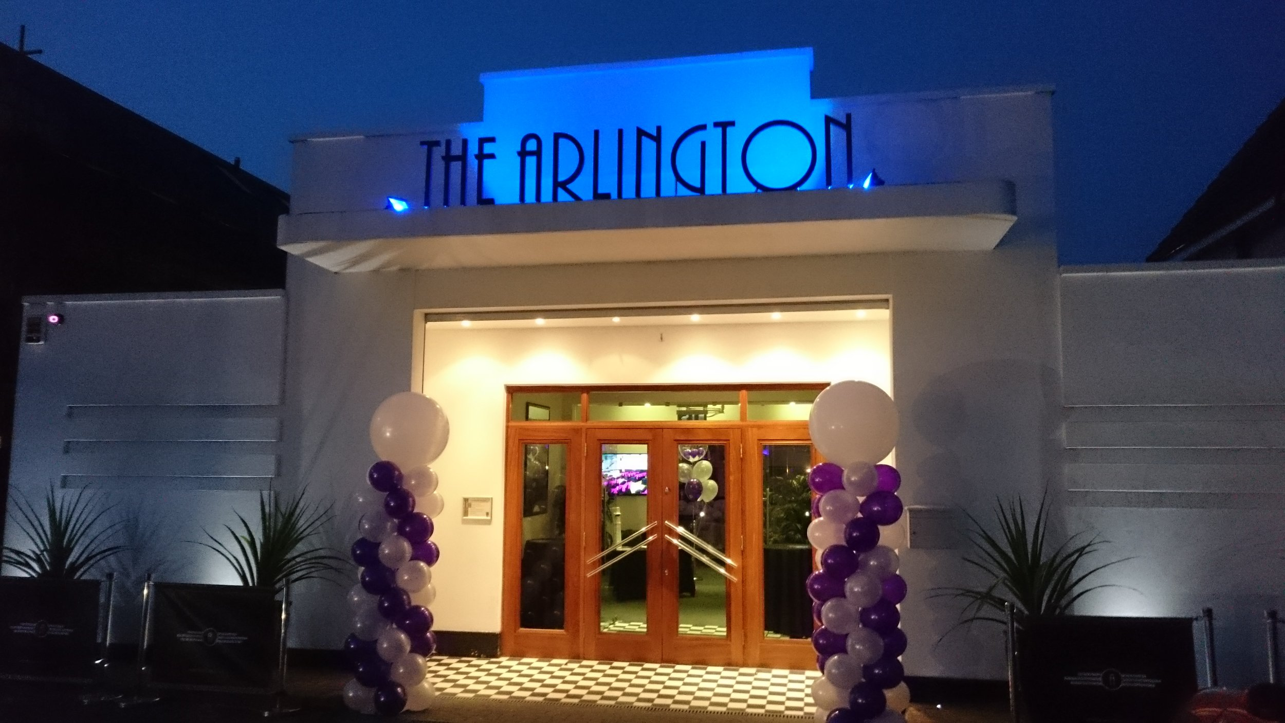 Entrance to the Arlington Ballroom Southend-on-Sea