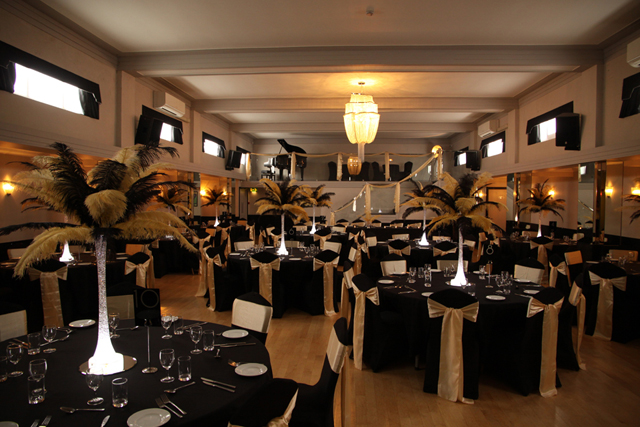 Black and Gold Wedding at The Arlington Ballroom, Southend-on-Sea