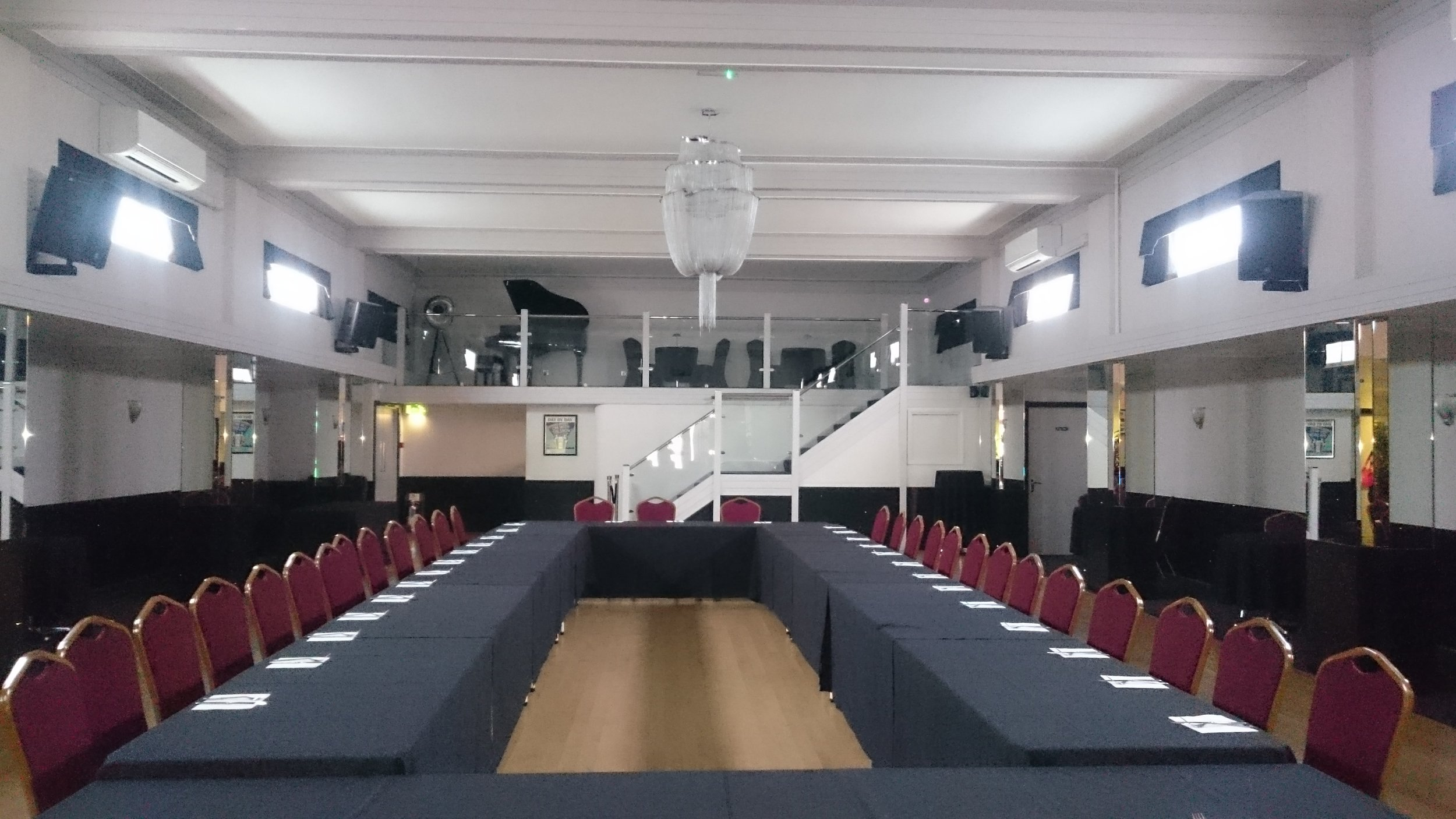 Corporate Events Table Layout at The Arlington Ballroom, Southend-on-Sea