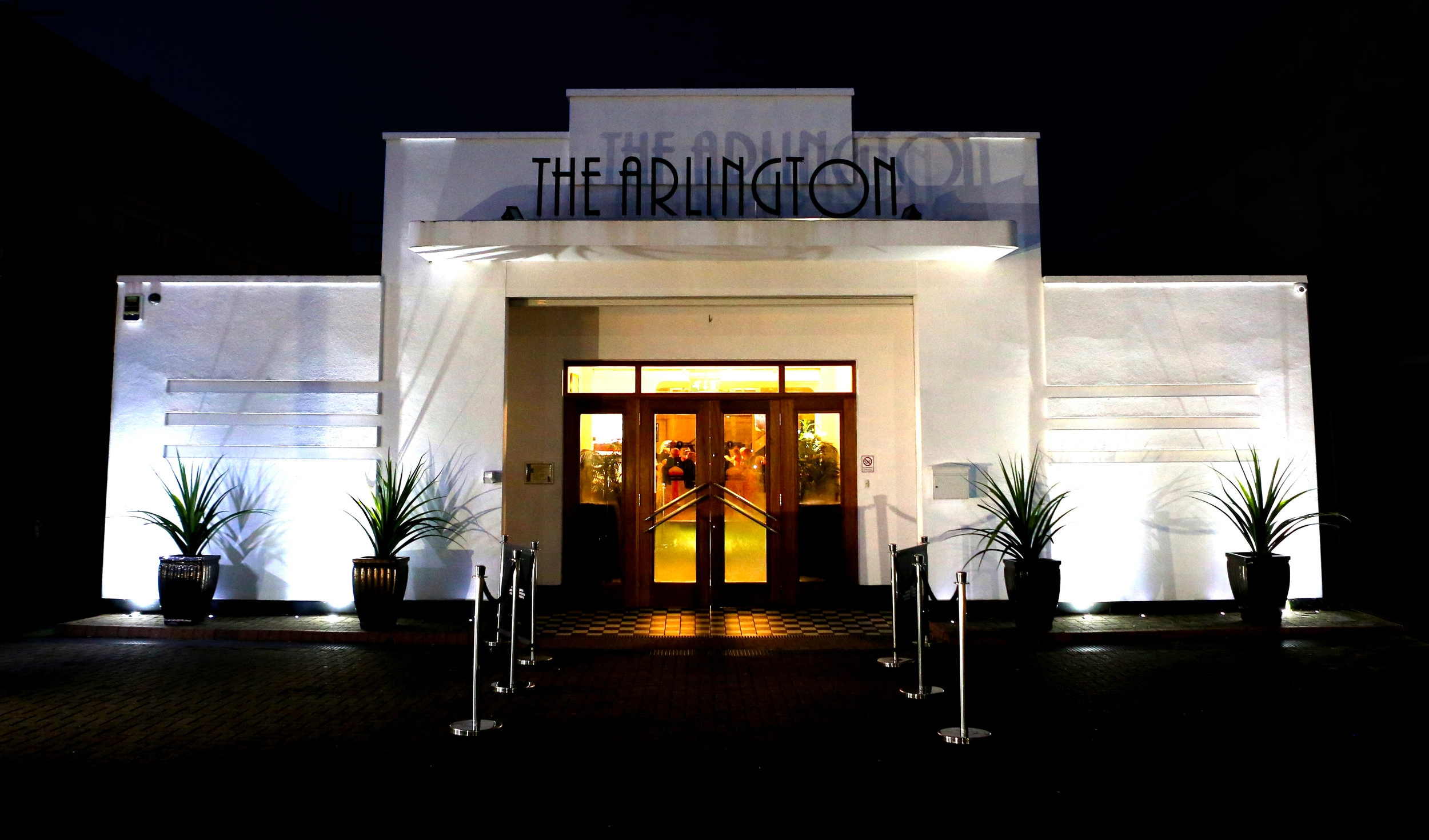 Entrance to the Arlington Ballroom, London Road, Leigh-on-Sea, Essex