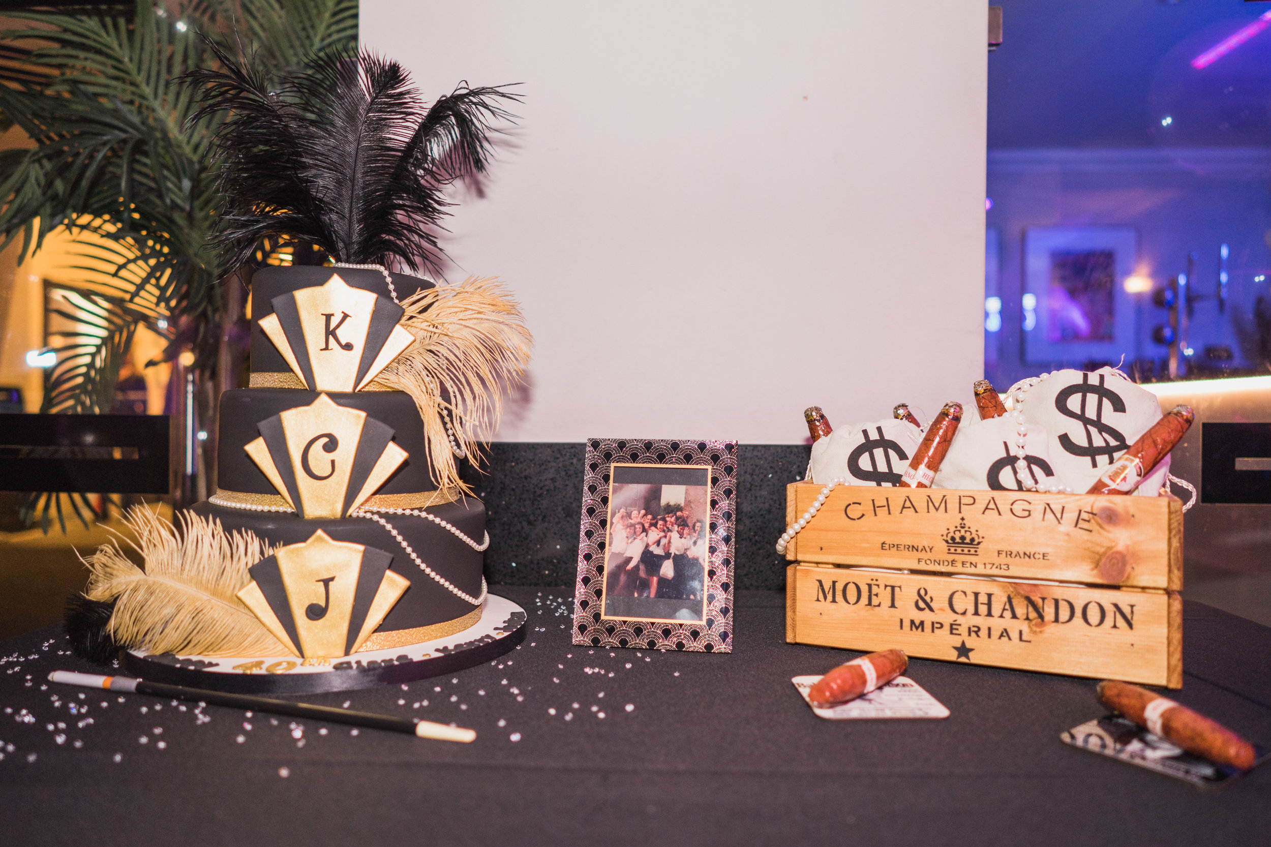 1920s themed Art Deco party at The Arlington Ballroom Essex