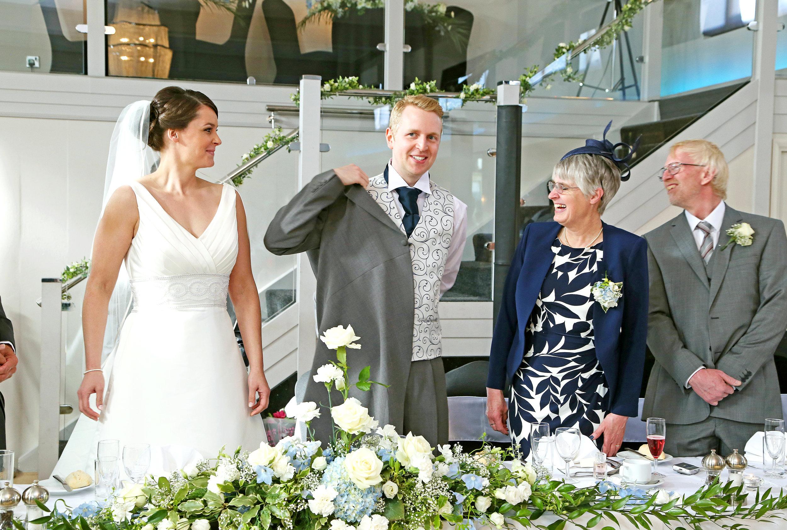 Bride Groom and Family Arlington Ballroom Wedding.jpg