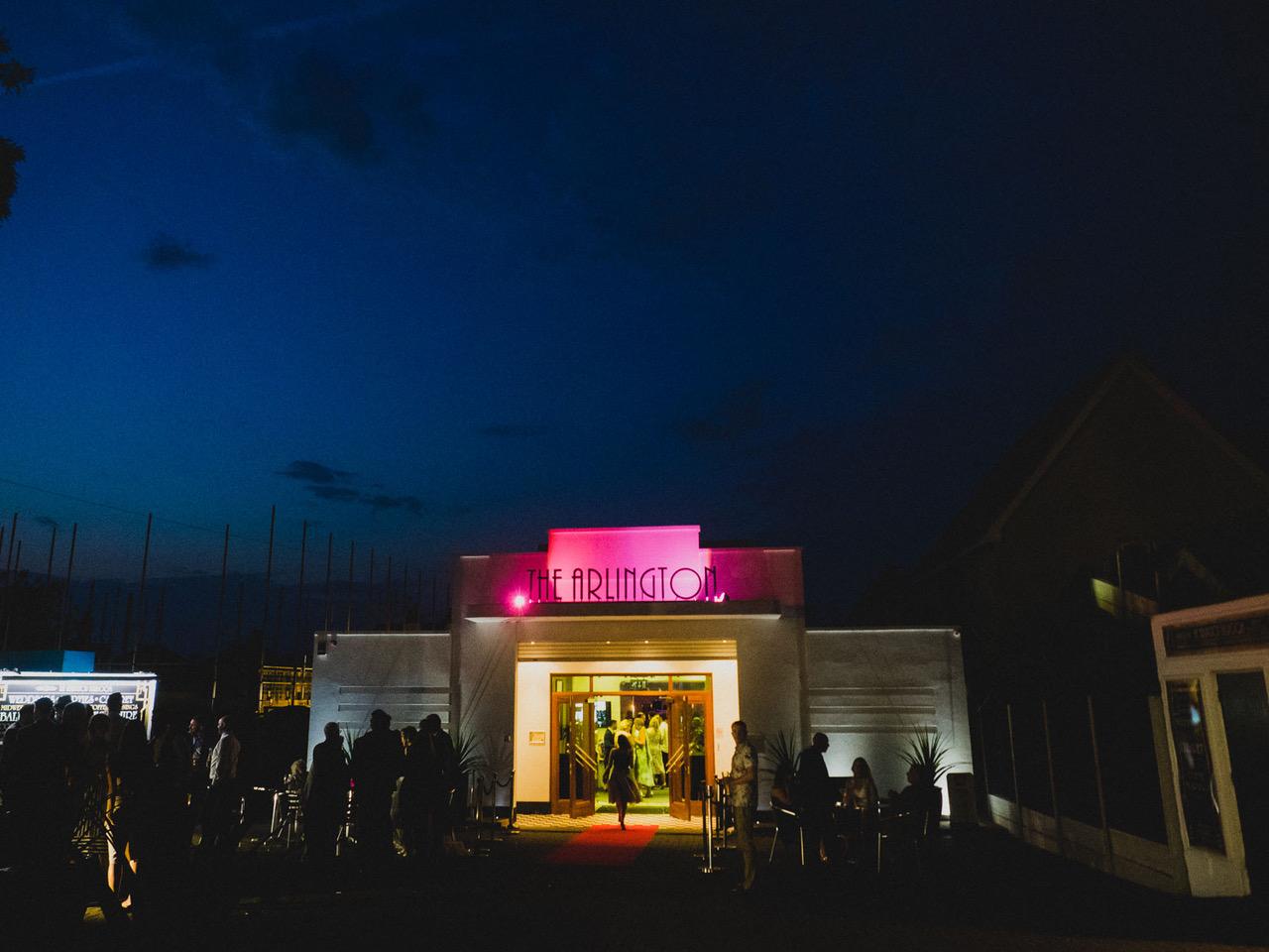 The Arlington Ballroom exterior, Southend-on-Sea