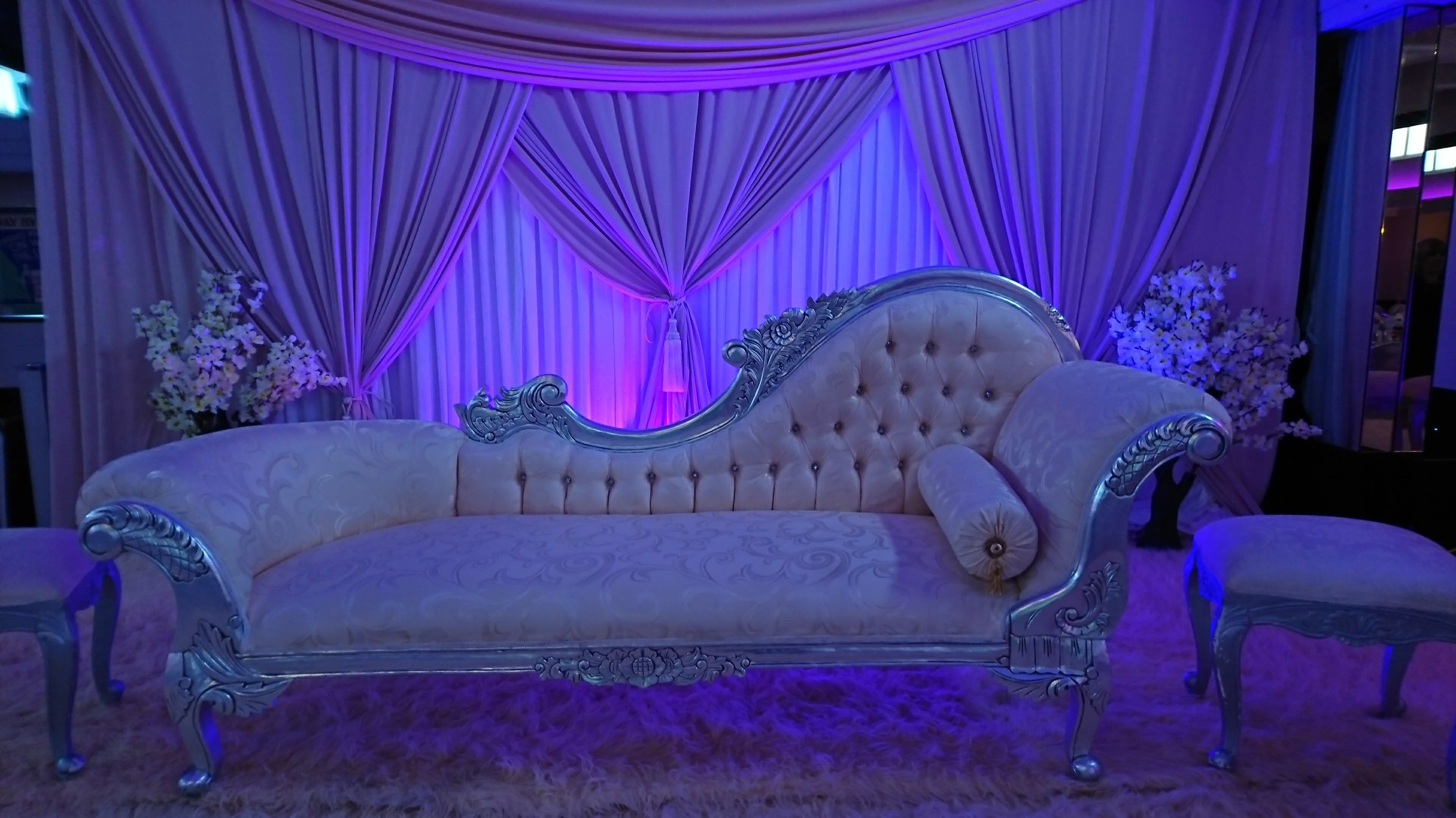 Lilac Couch Prom Southend-on-Sea