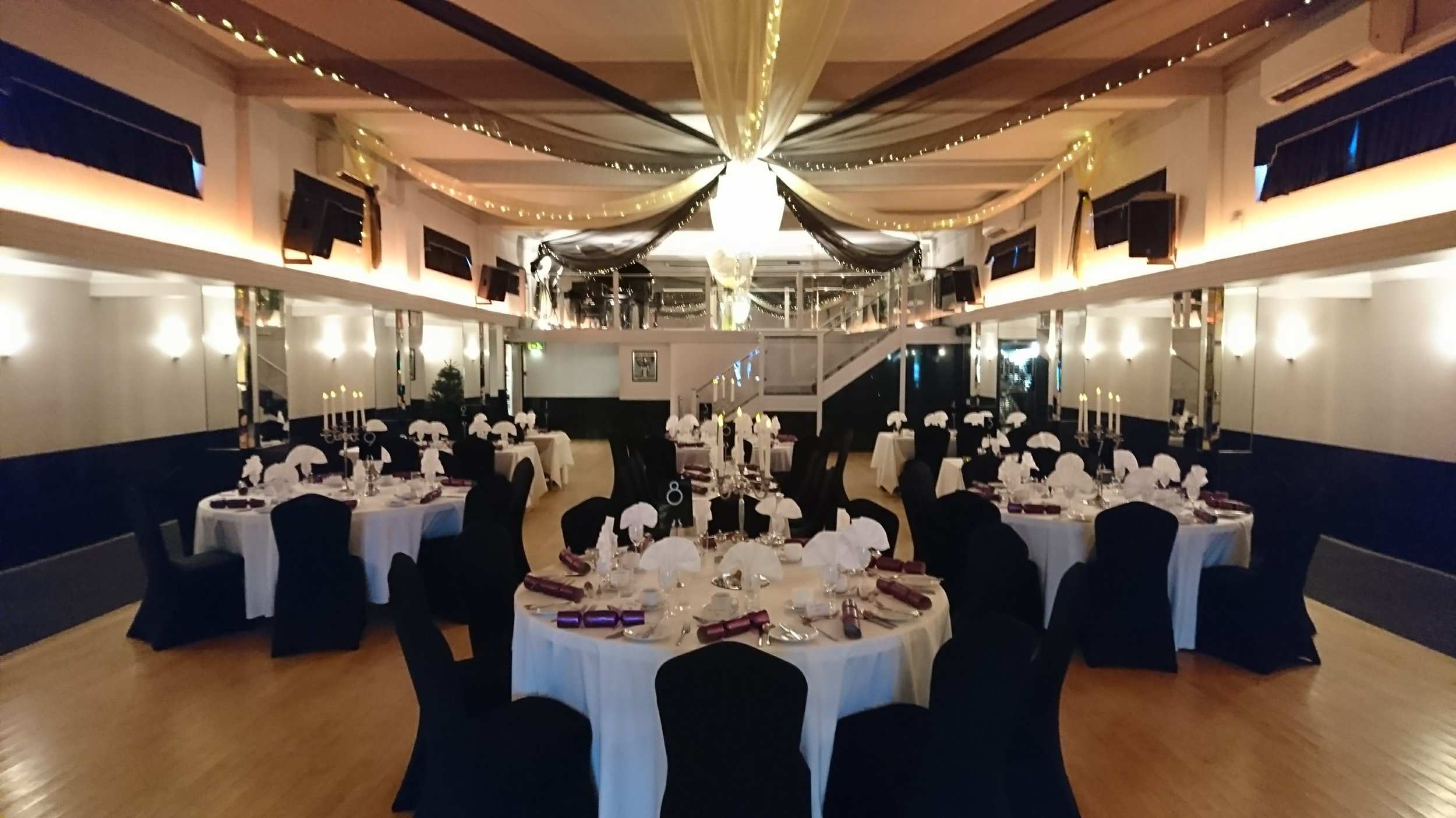 Prom Dinner at The Arlington Ballroom Southend