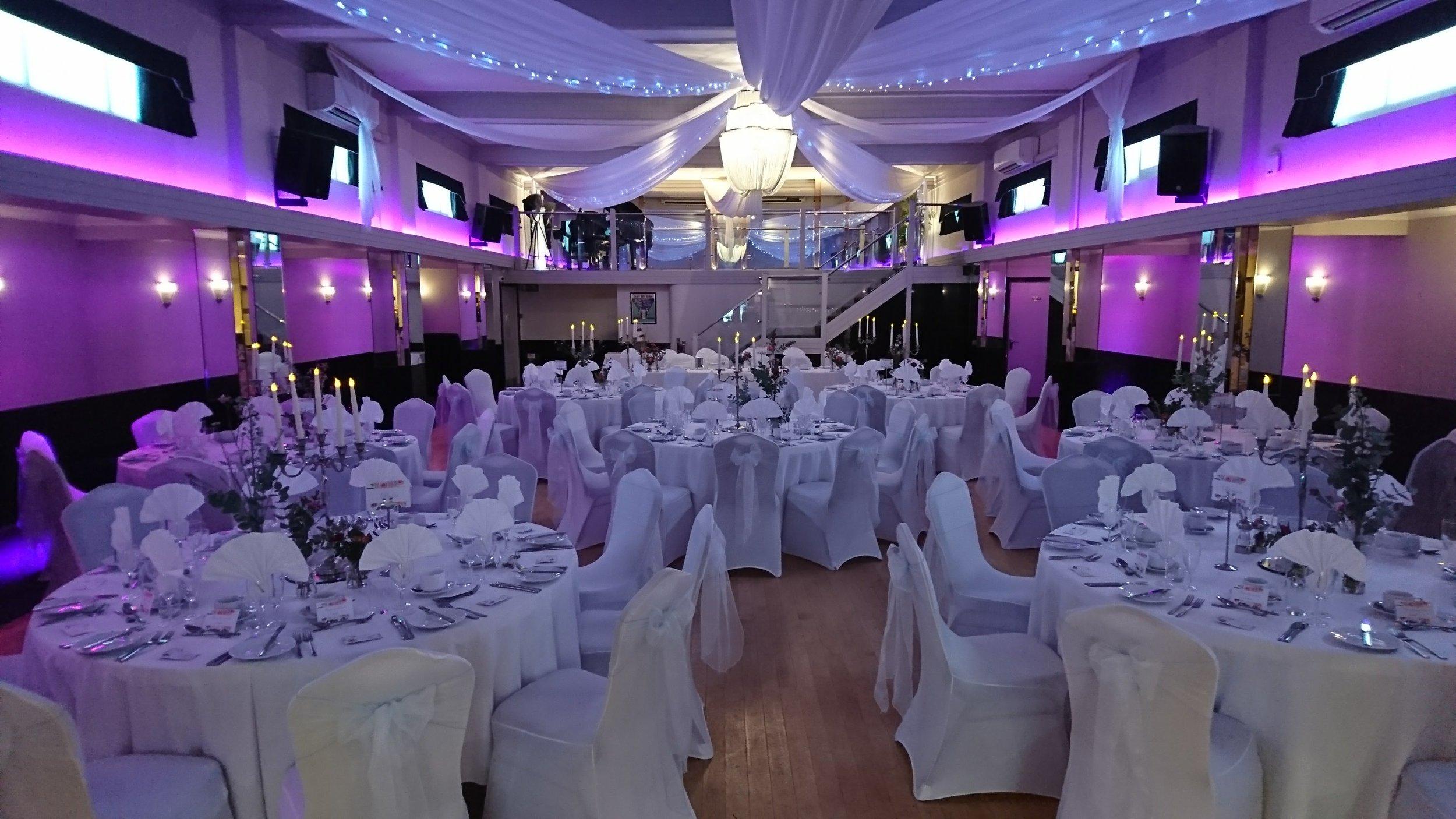 Gala Dinner at The Arlington Ballroom Southend-on-Sea