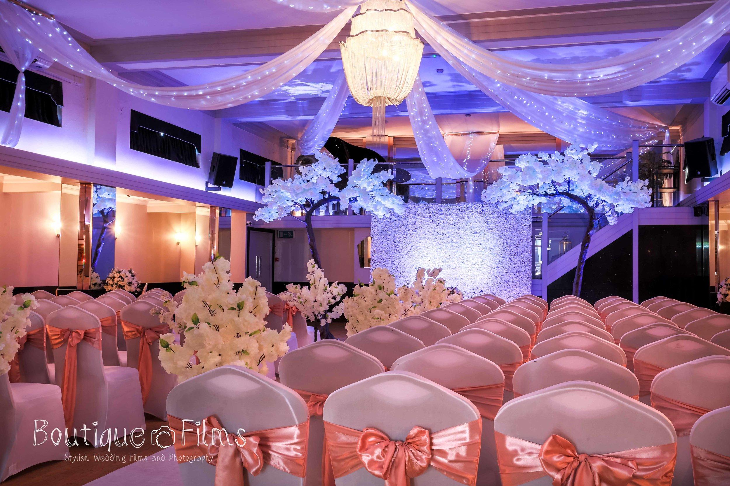 Pink and Blue Wedding at The Arlington Ballroom, Southend-on-Sea