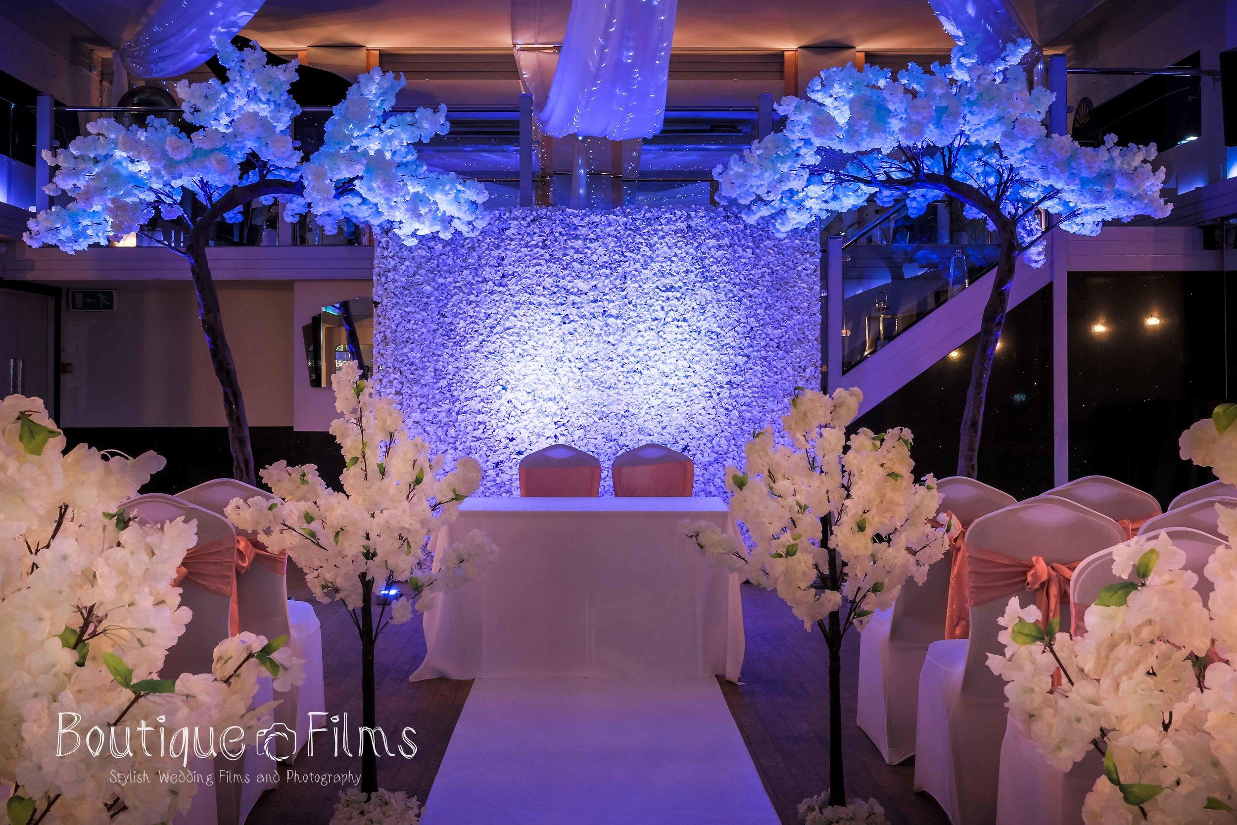 Humanist Wedding Ceremony at The Arlington Ballroom, Southend-on-Sea