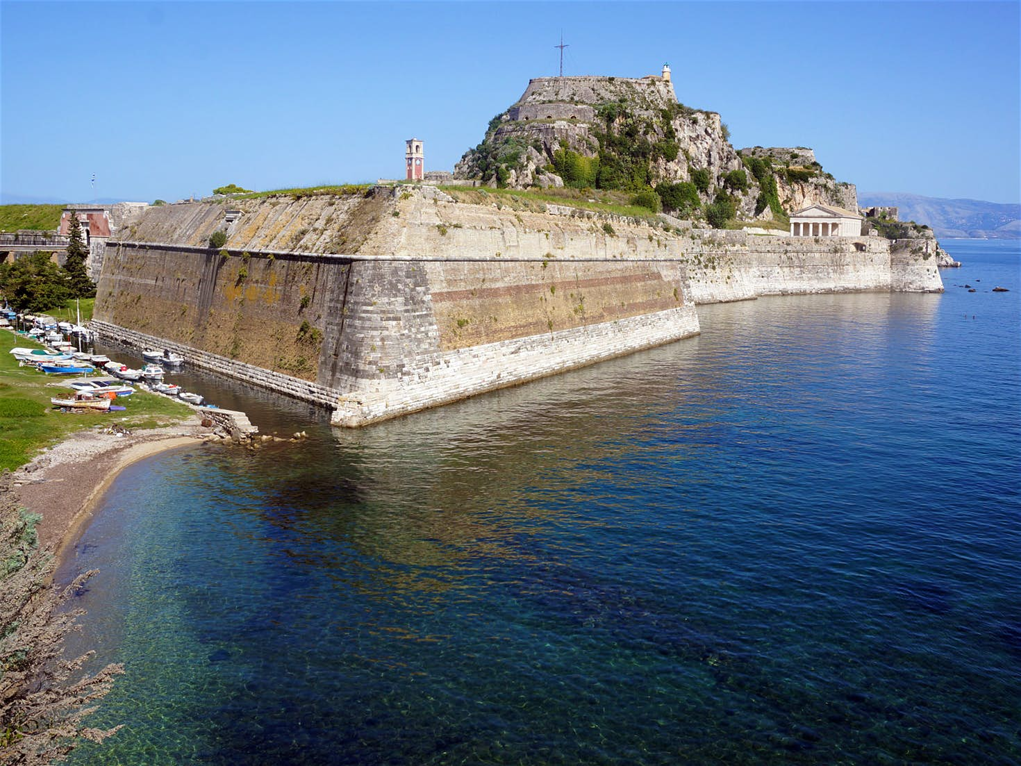 Corfu Town's Old Fort, from Lonely Planet
