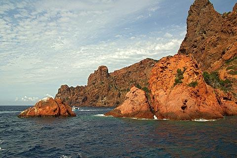 Scandola Nature Reserve,  from Corsica Travel Guide