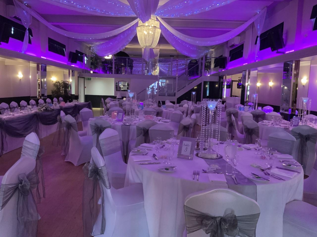 Ballroom - Rosie and Daniel's Wedding 24th August 2019 - Arlington Ballroom Southend