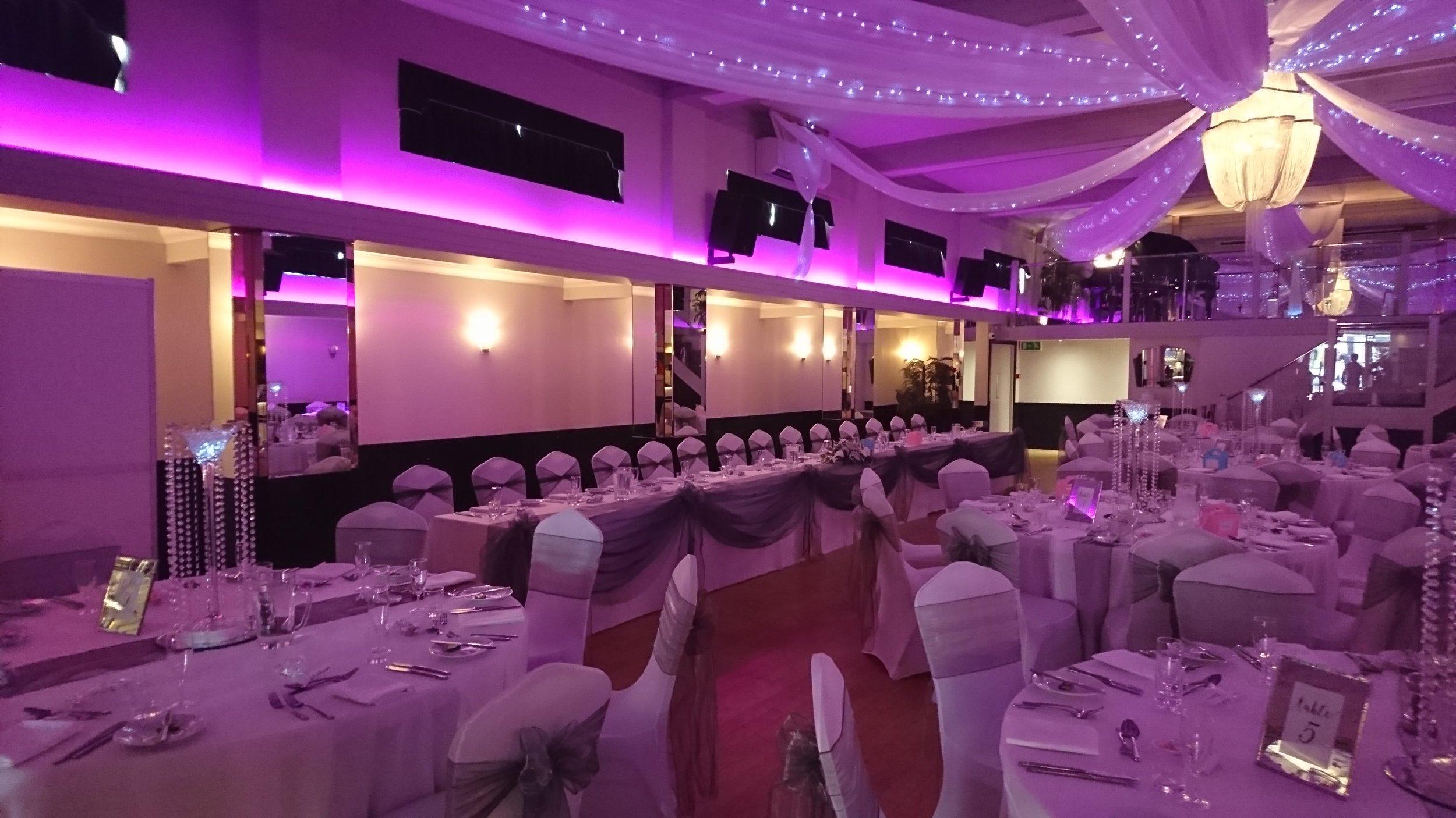 Pink Wedding Reception, Rosie and Daniel, 24th August 2019 - The Arlington Ballroom Essex