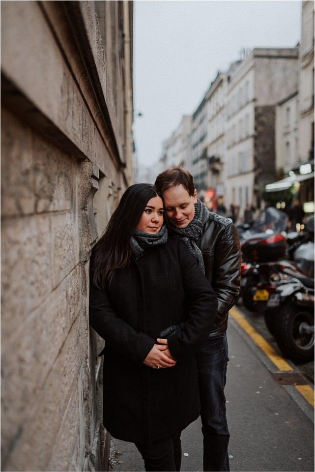 05 romantic moody wedding honeymoon engagement anniversary couple session valentines day paris france eiffel tower sacre coer rainy nika grega destination wedding photographers (14).jpg