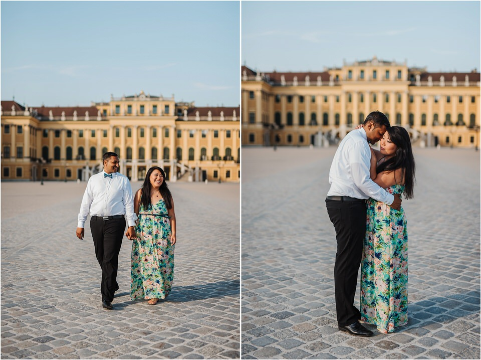 austria vienna wien wedding photographer schoenbrunn palace destination photography old city centre architecture elegant engagement session she said yes 0040.jpg