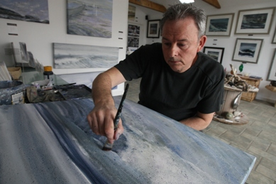Northumbrian painter Mick Oxley Featured On Creative Sparq By Ayesha Kohli