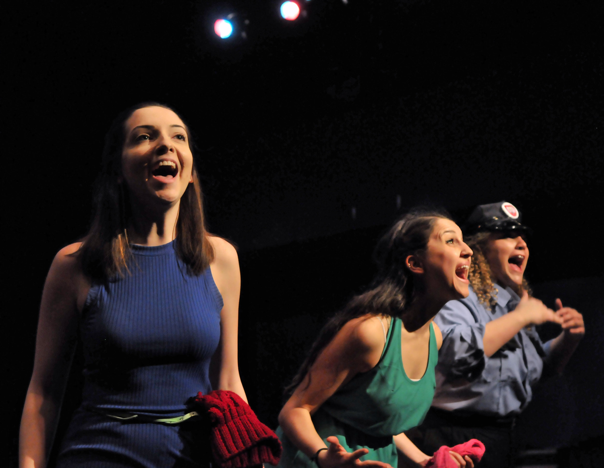 """"""" Theatre has always and will always be one of my greatest joys. I performed in a variety of productions my entire life, this one being a new-work at Emerson College called """"We Are Pussy Riot"""""""