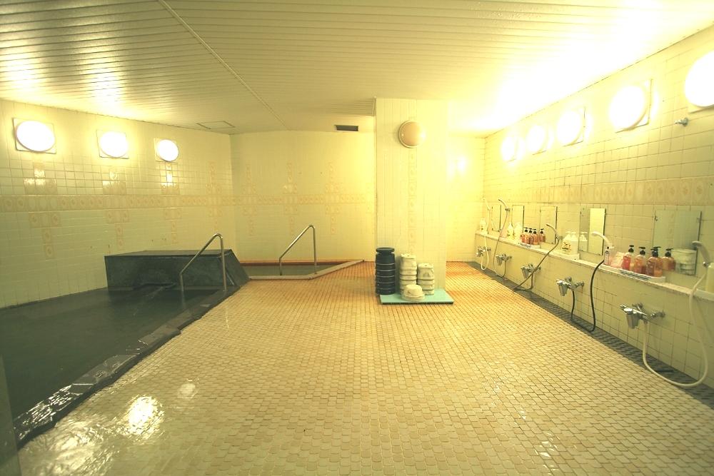栂池高原酒店 浴場1.JPG