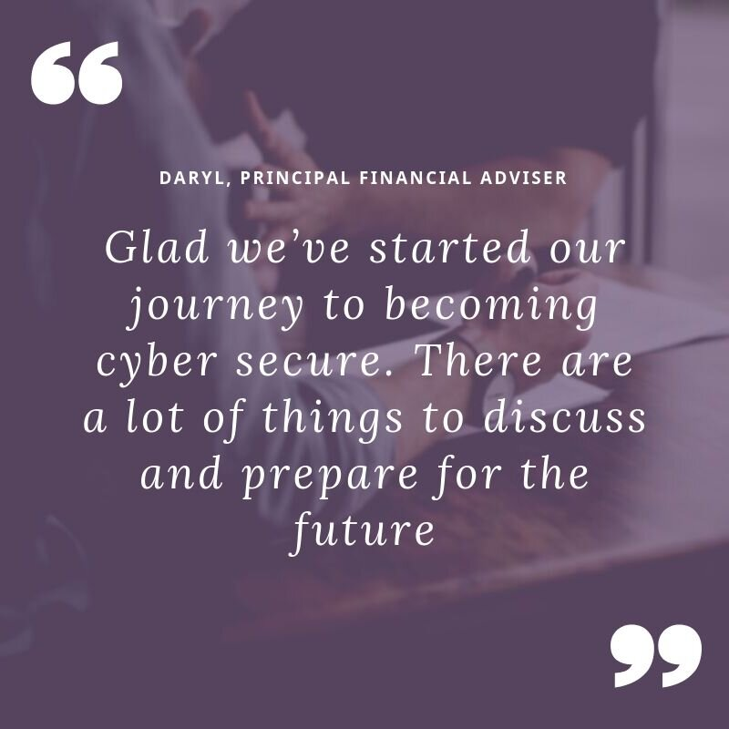 cyber security for financial planners
