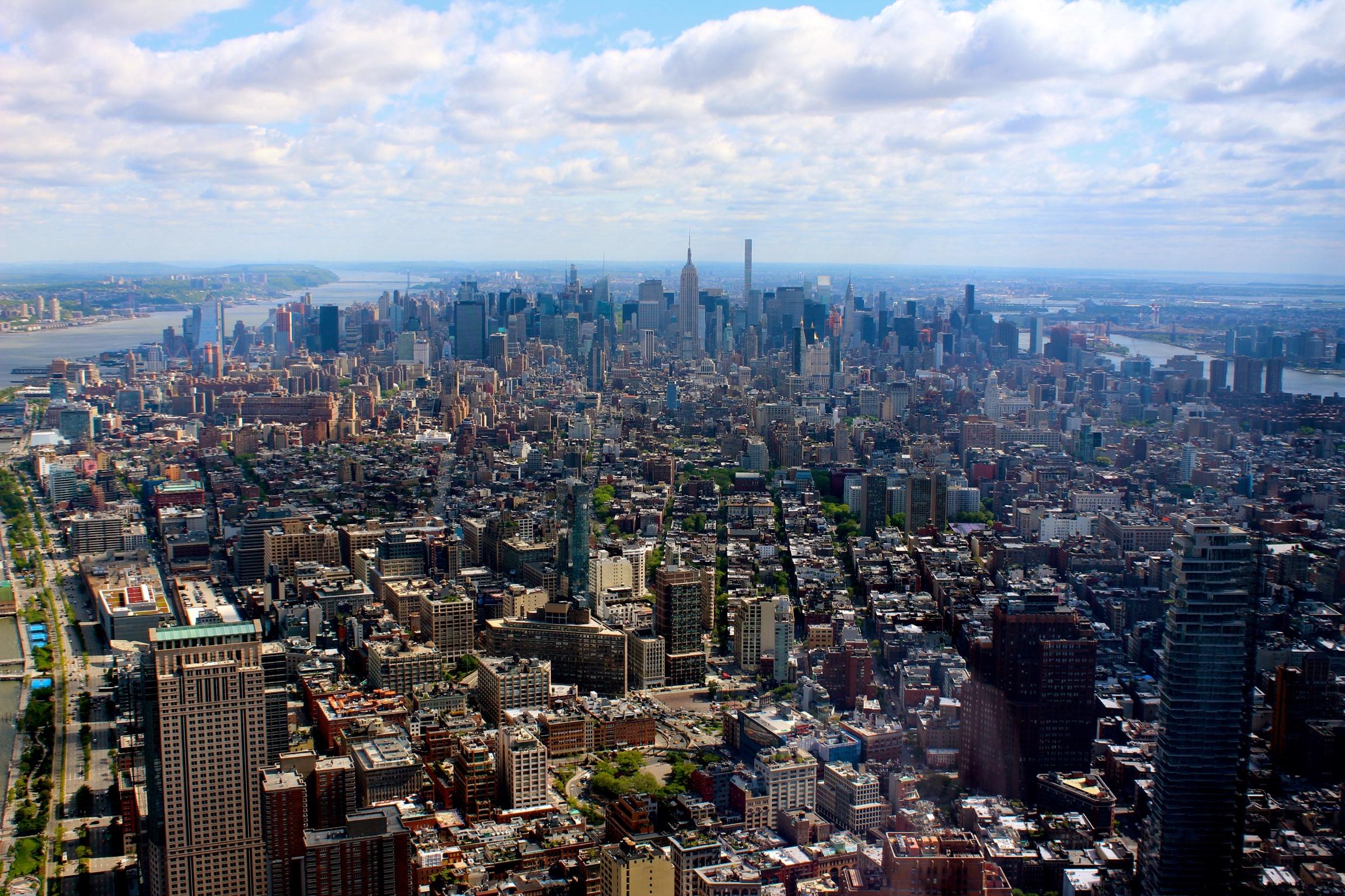 Ausblick vom One World Trade Center.