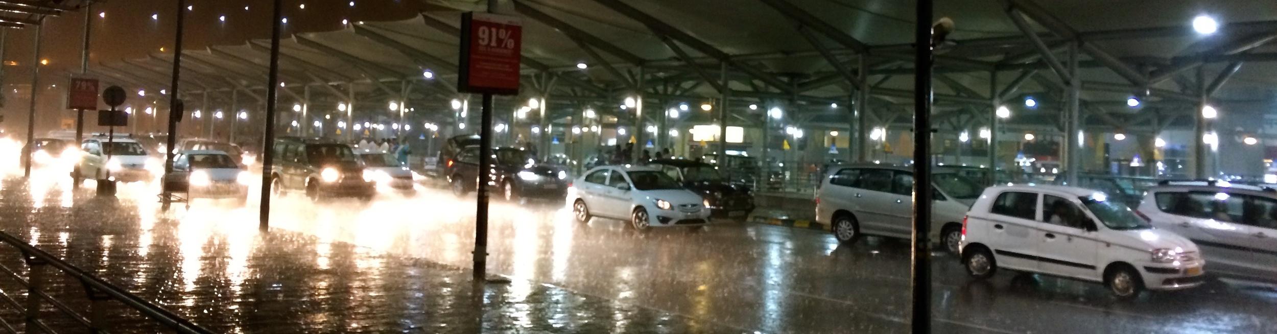 Flughafen Delhi