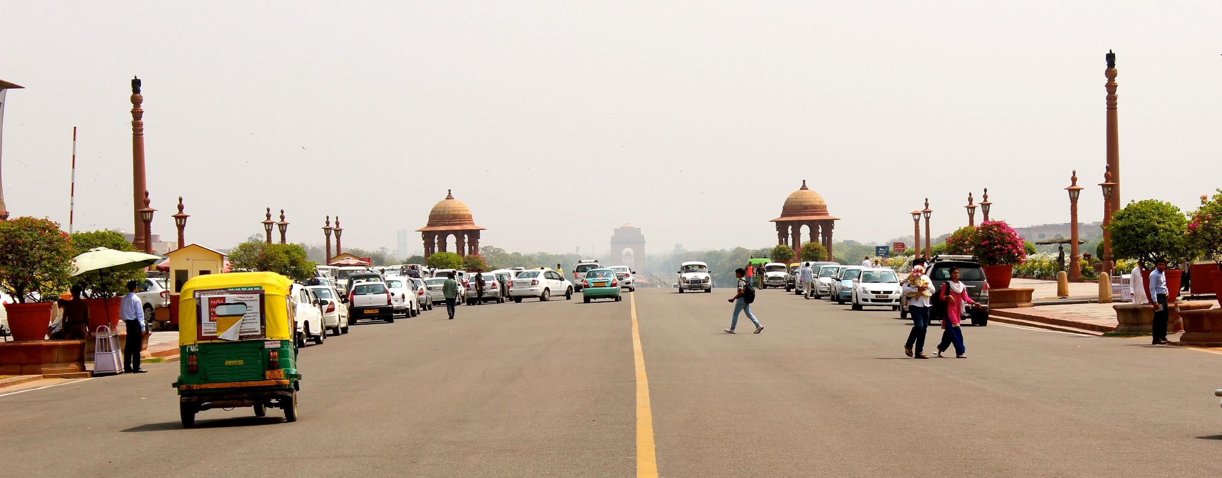 Regierungsviertel Delhi