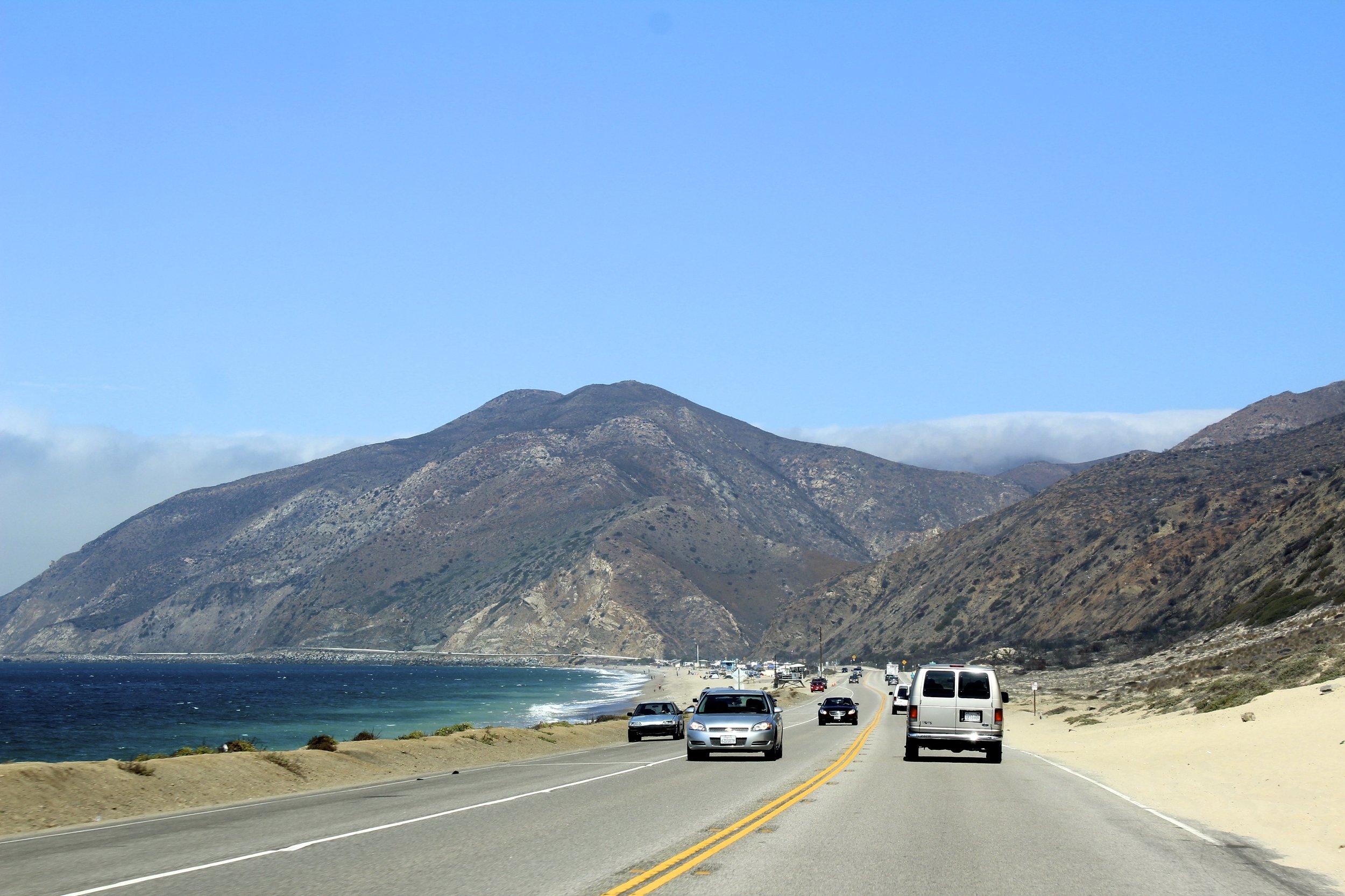 Der PCH (Pacific Coast Highway oder auch Highway #1)