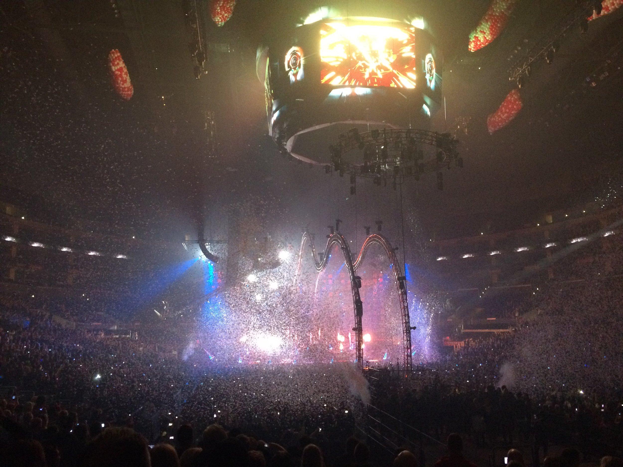 Mötley Crül at the Staples Center