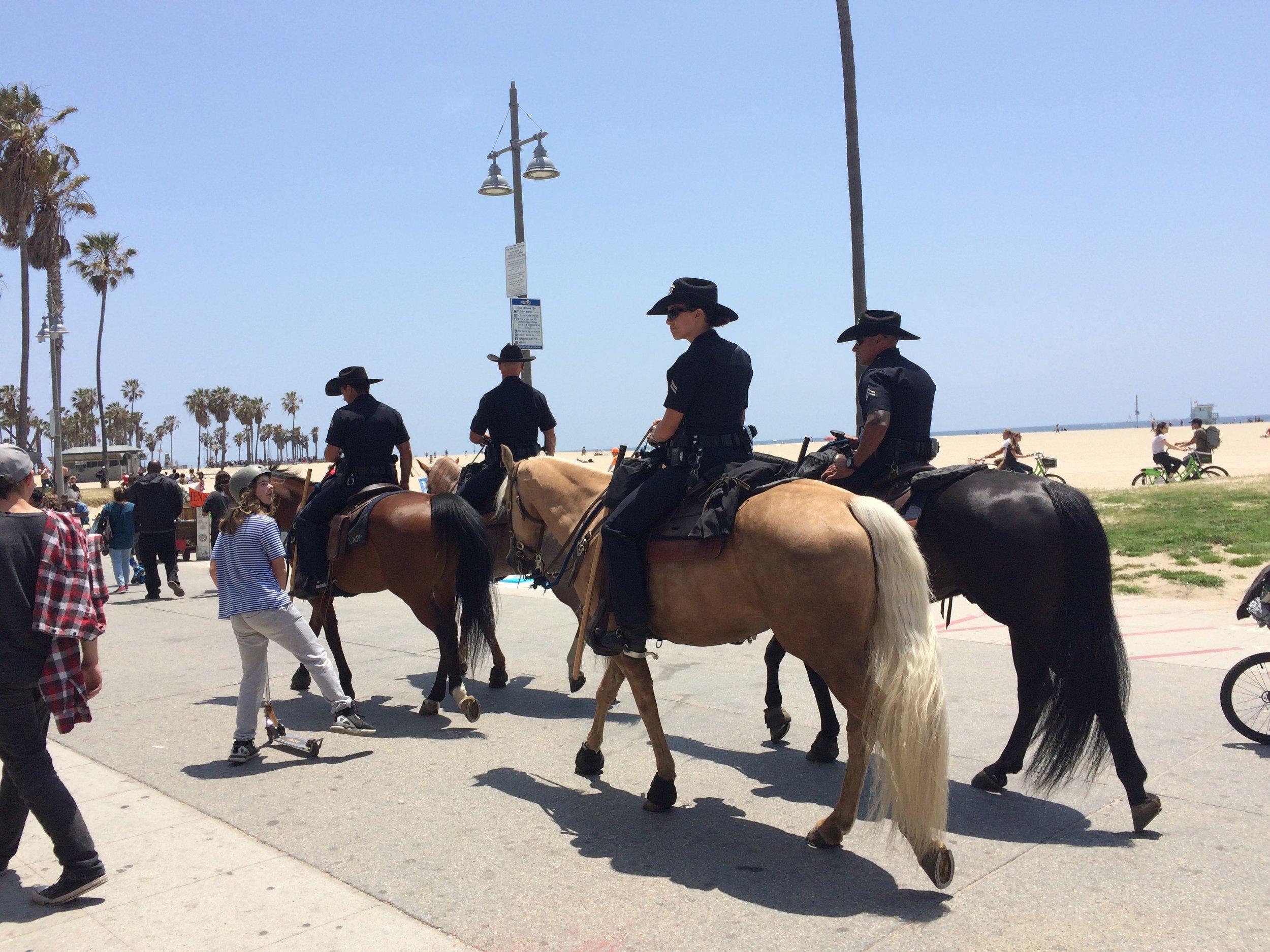 Impressionen von Venice Beach: der Frontwalk