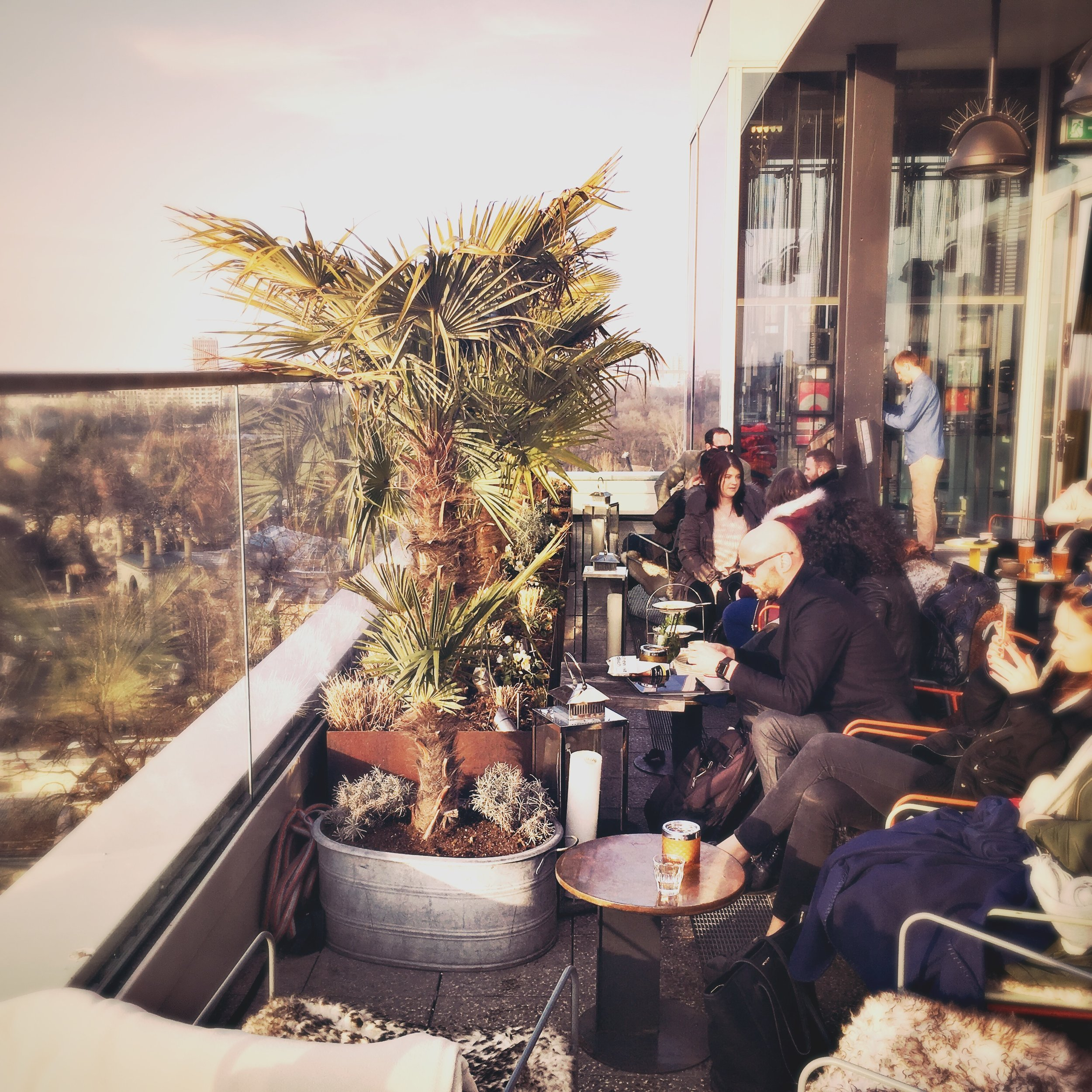 Schönste Dachterrasse in der City West.