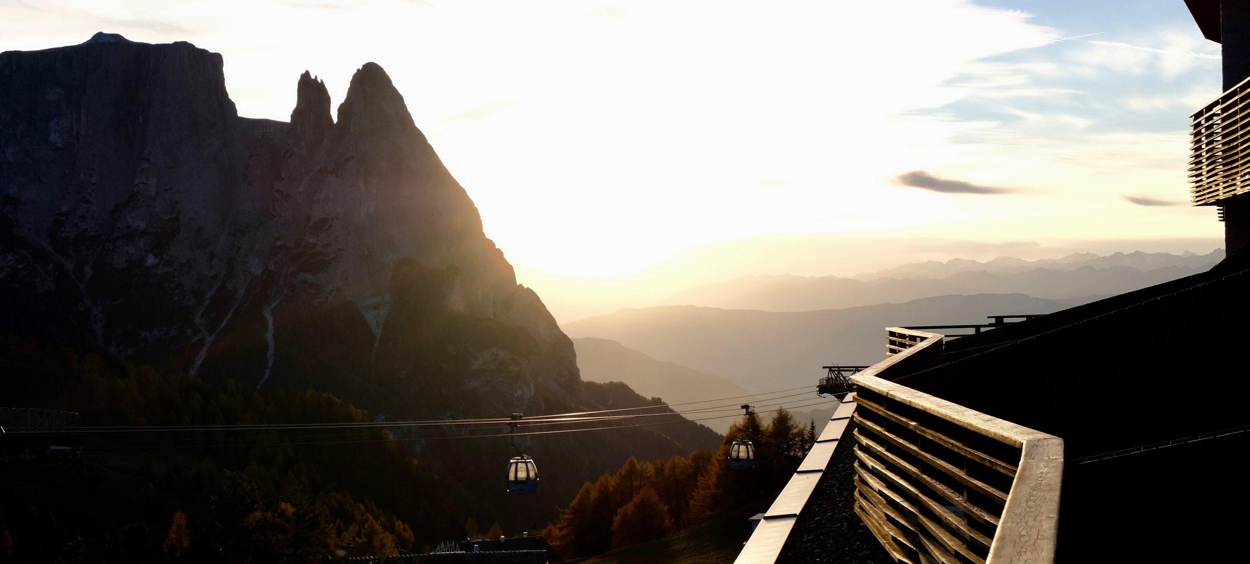 Süd-Tirol Seiser Alm Italien Reise-Tipps für den Herbst Beate Finken BeFifty Blog für Frauen über 40 und ab 50.