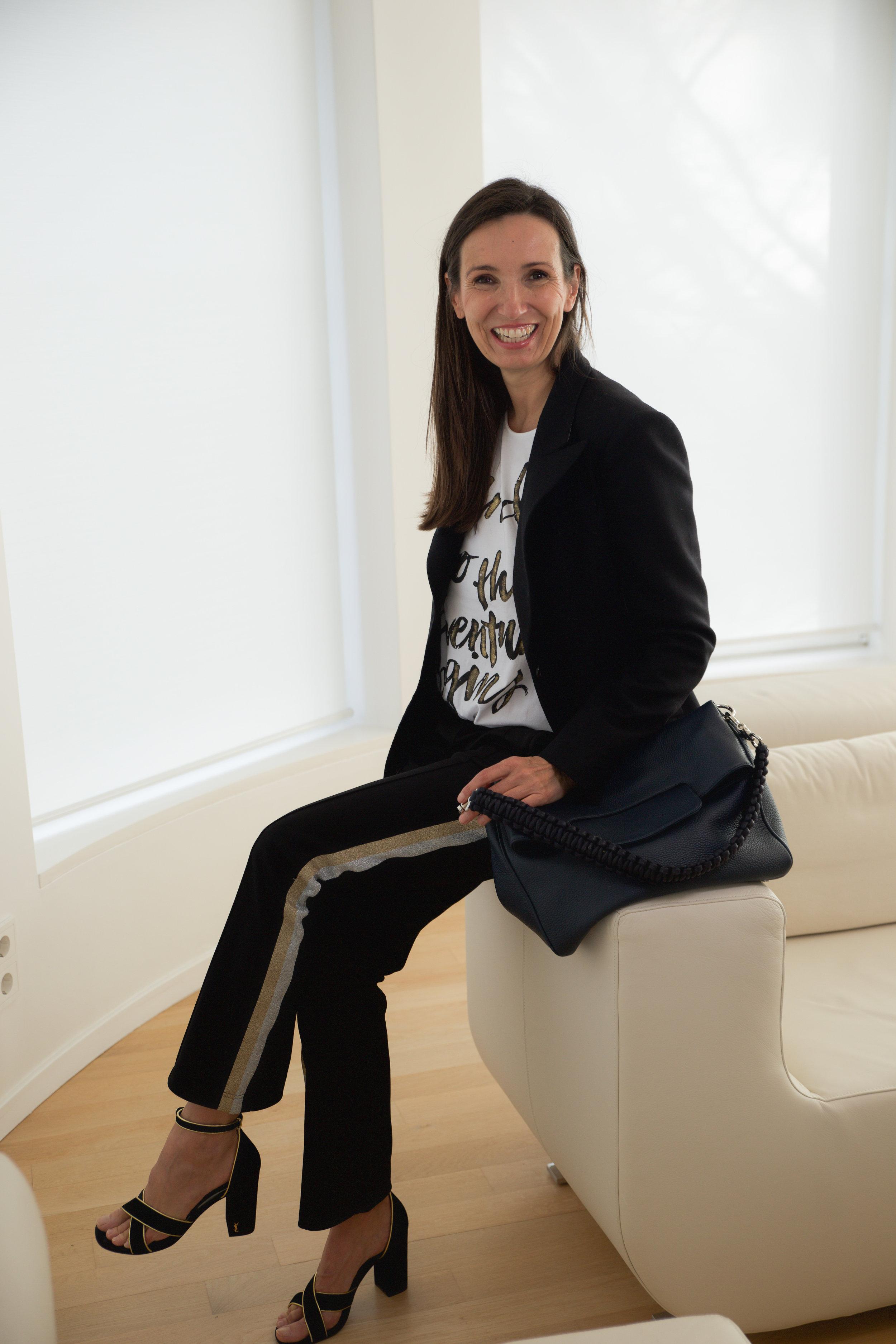Liv Bergen Look Styling Jogginghose BeFifty Mode für Frauen über 50