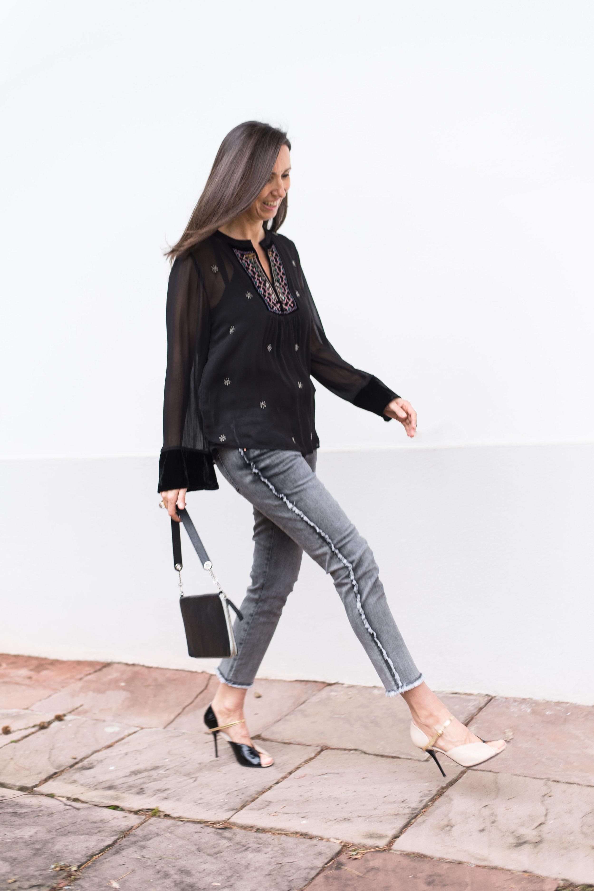 BeFifty Blog für Frauen über 50 Fashion DAWN Jeans Outfit