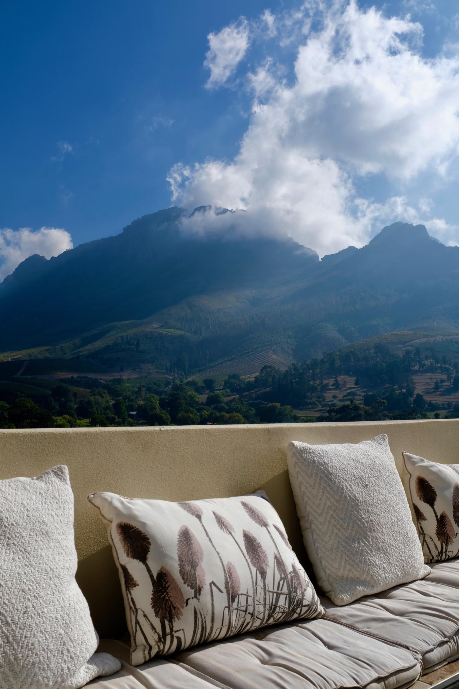 Beate Finken BeFifty Reiseblog Travel Blog für Frauen über 50 Stellenbosch Südafrika Wein Gebiet Hoteltipp Banhoek Lodge