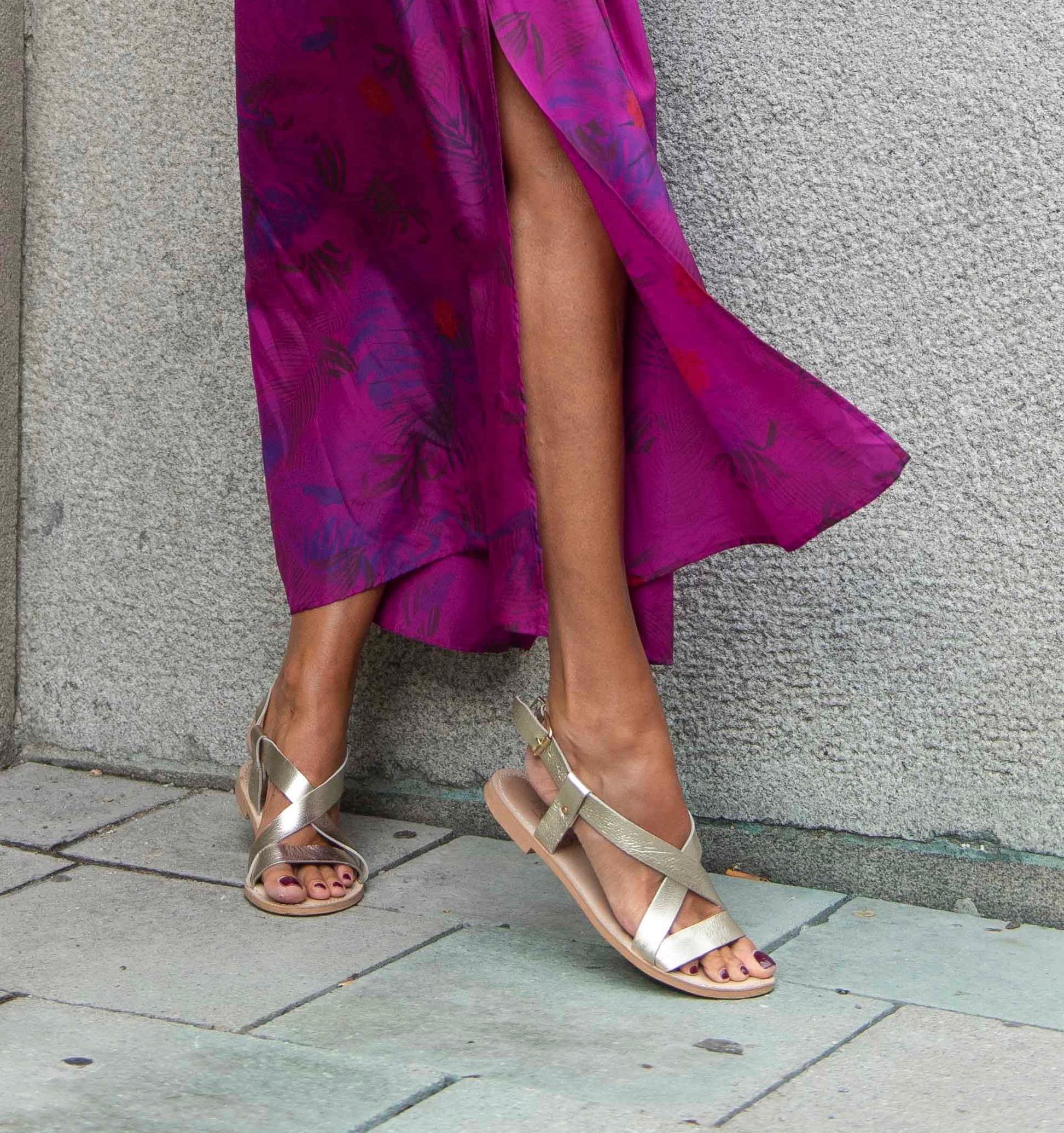 Blog für Frauen über 50 BeFifty Was anziehen, wenn es richtig heiß wird? Zadig&Voltaire Kleid Schuhe IvyLee Copenhagen Ruby Store München