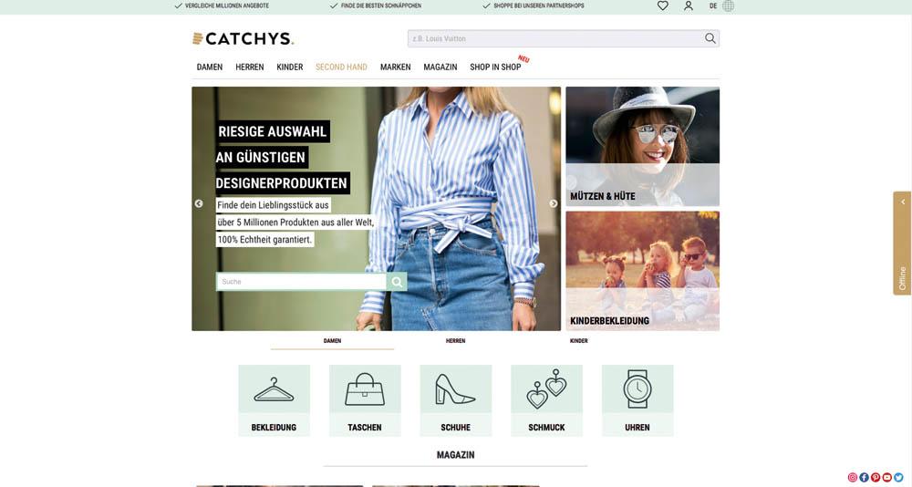 BeFifty Blog für Frauen über 40 und über 50. Beate Finken. Vintage und Second Hand Shopping. Catchys die Plattform für Online Second Hand Shopping.