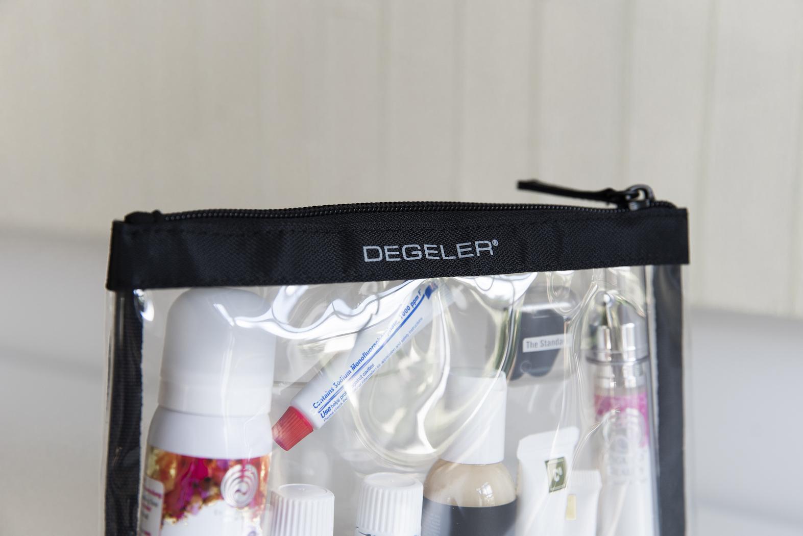 Clear Bag von Degeler Reisen ohne Knittern Reisegrößen Kosmetik BeFifty Blog für Frauen über 40 und 50 Beate Finken