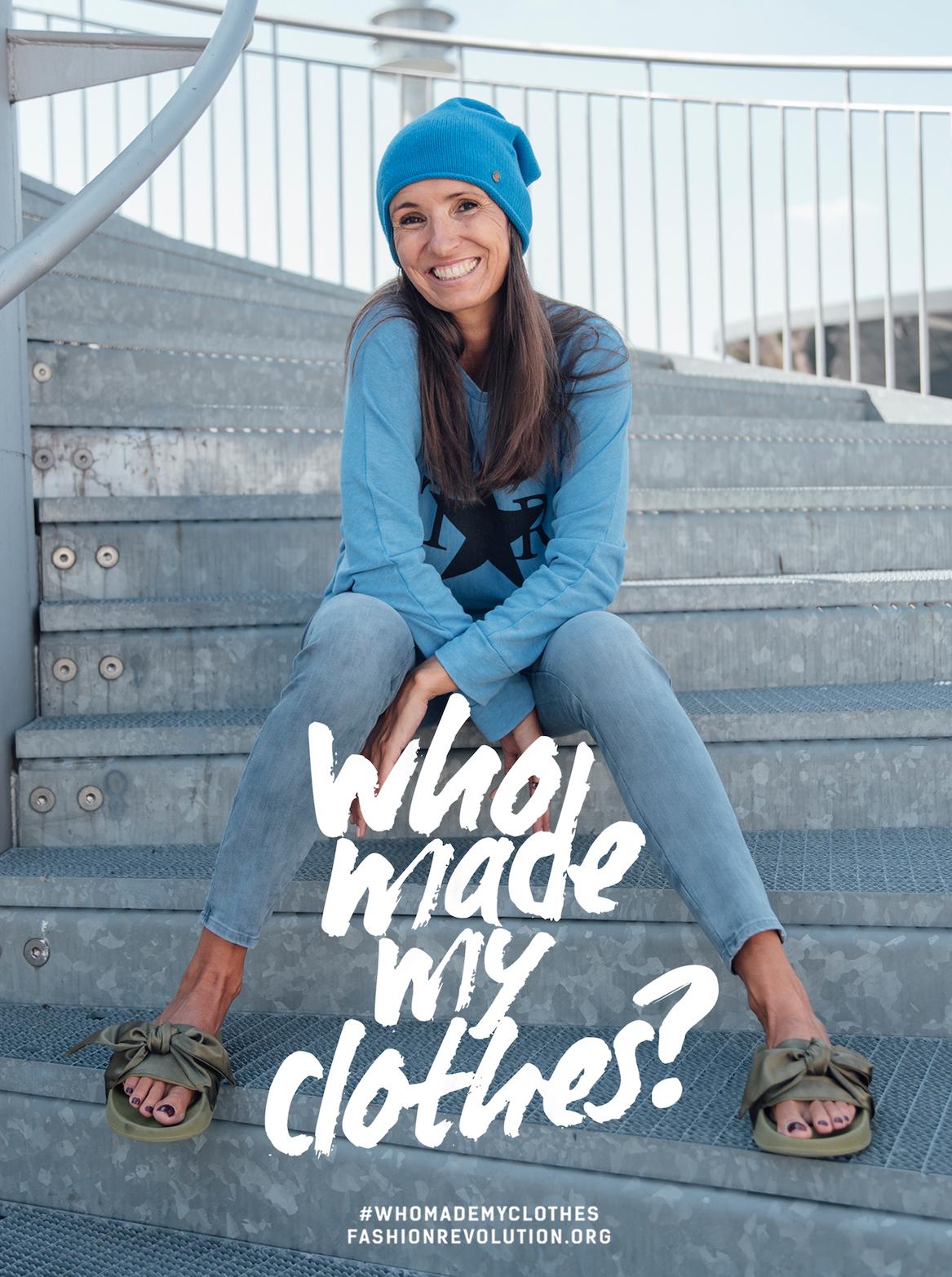 #whomademyclothes Fashionrevolution.org Blog für nachhaltige Mode. Beate Finken Bloggerin Mode für Frauen ab 40 und ab 50.  FASHION REVOLUTION  GERMANY