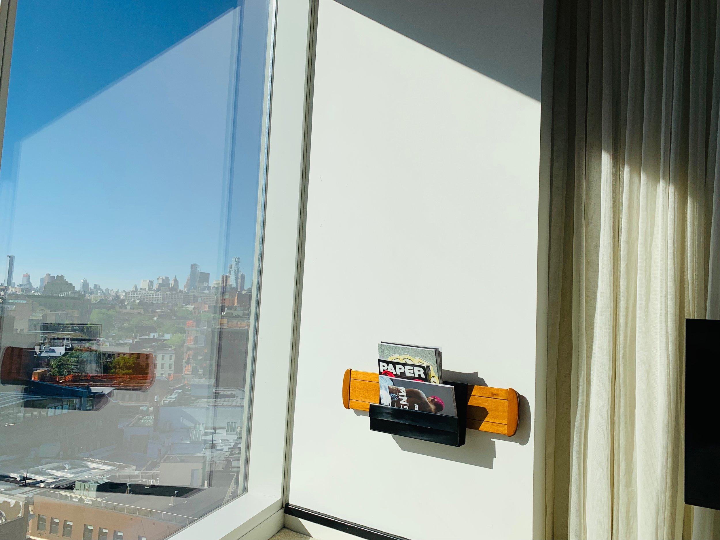 Hotel Tipp New York Tipps für Manhattan Wo schläft man am besten in New York City? Reisetipps einer Bloggerin. Beate Finken Blog BeFifty Tipps für Frauen über 40 und ab 50. The Standard Hotel New York. Highline Park.