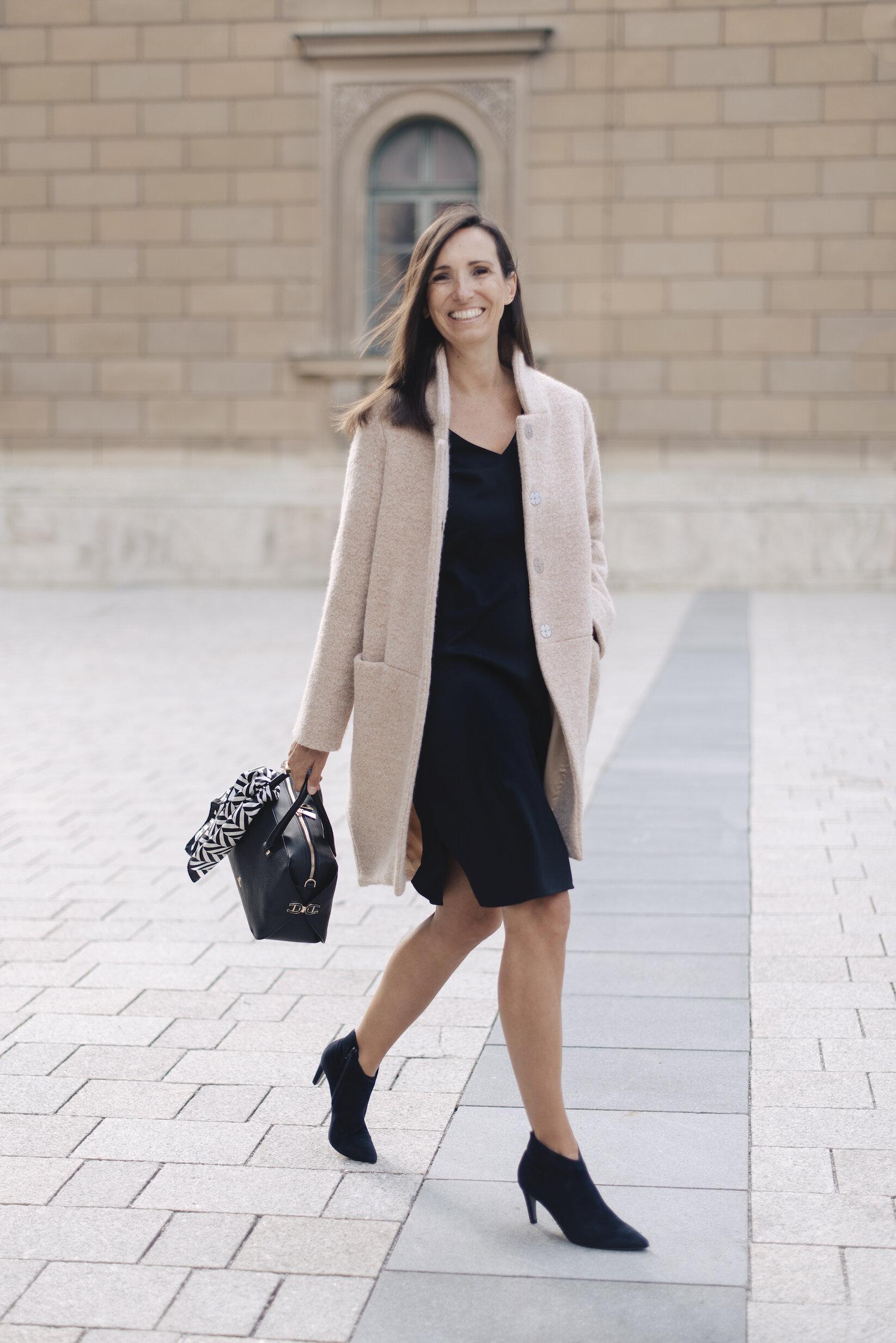 Der perfekte Mantel zum Kleid - BeFifty