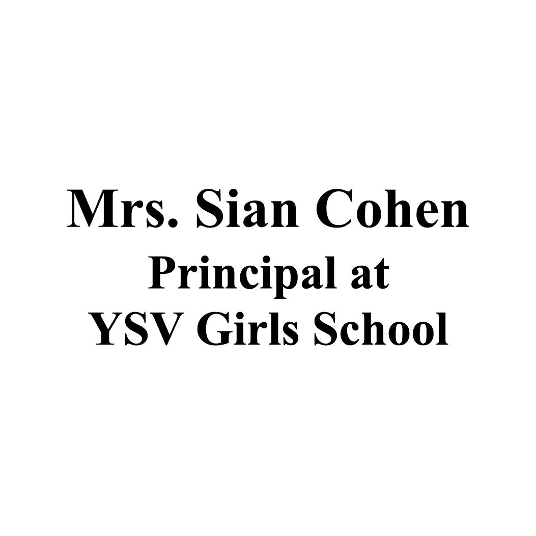 Mrs. Sian Cohen