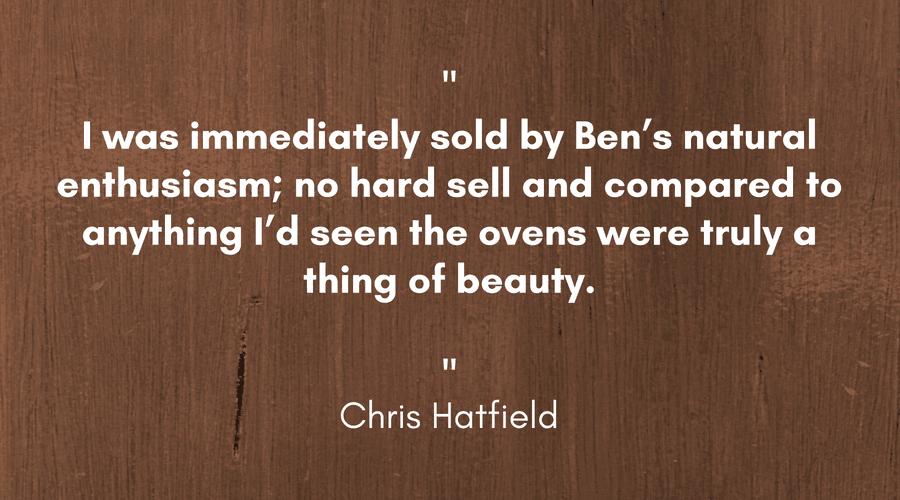 Chris Hatfield Pizza Oven Testimonial - Landscape 1.png