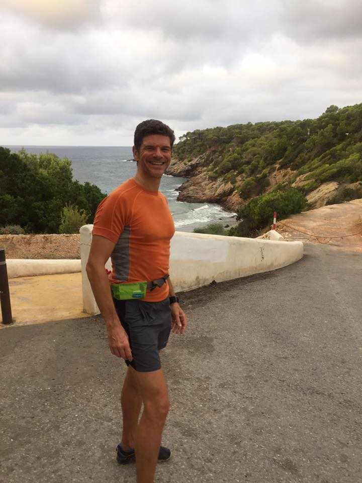 Morning Ibiza trail run with the  RunIbiza  and  RunningInHolland  guides