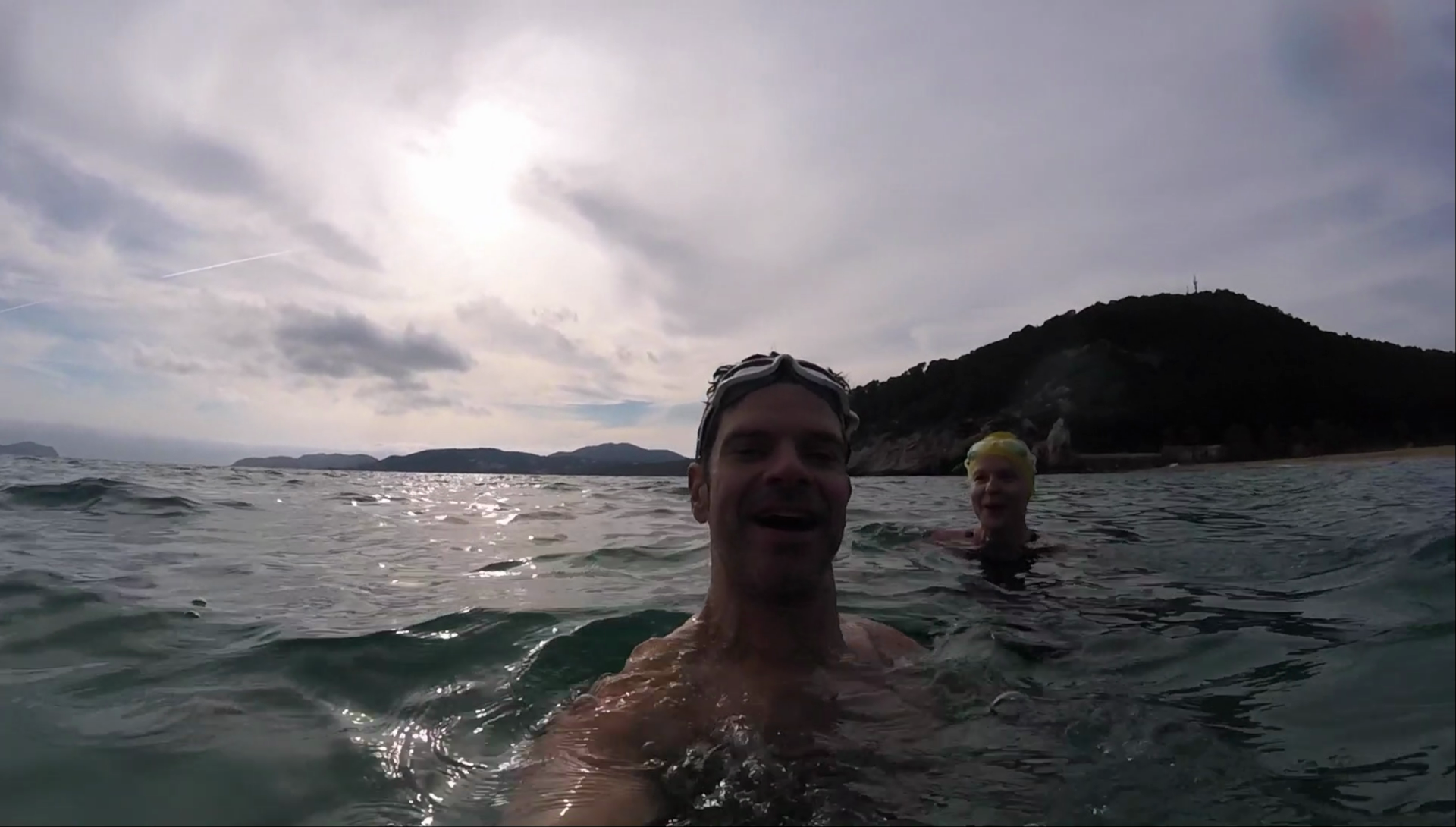 Winter Swim in Ibiza