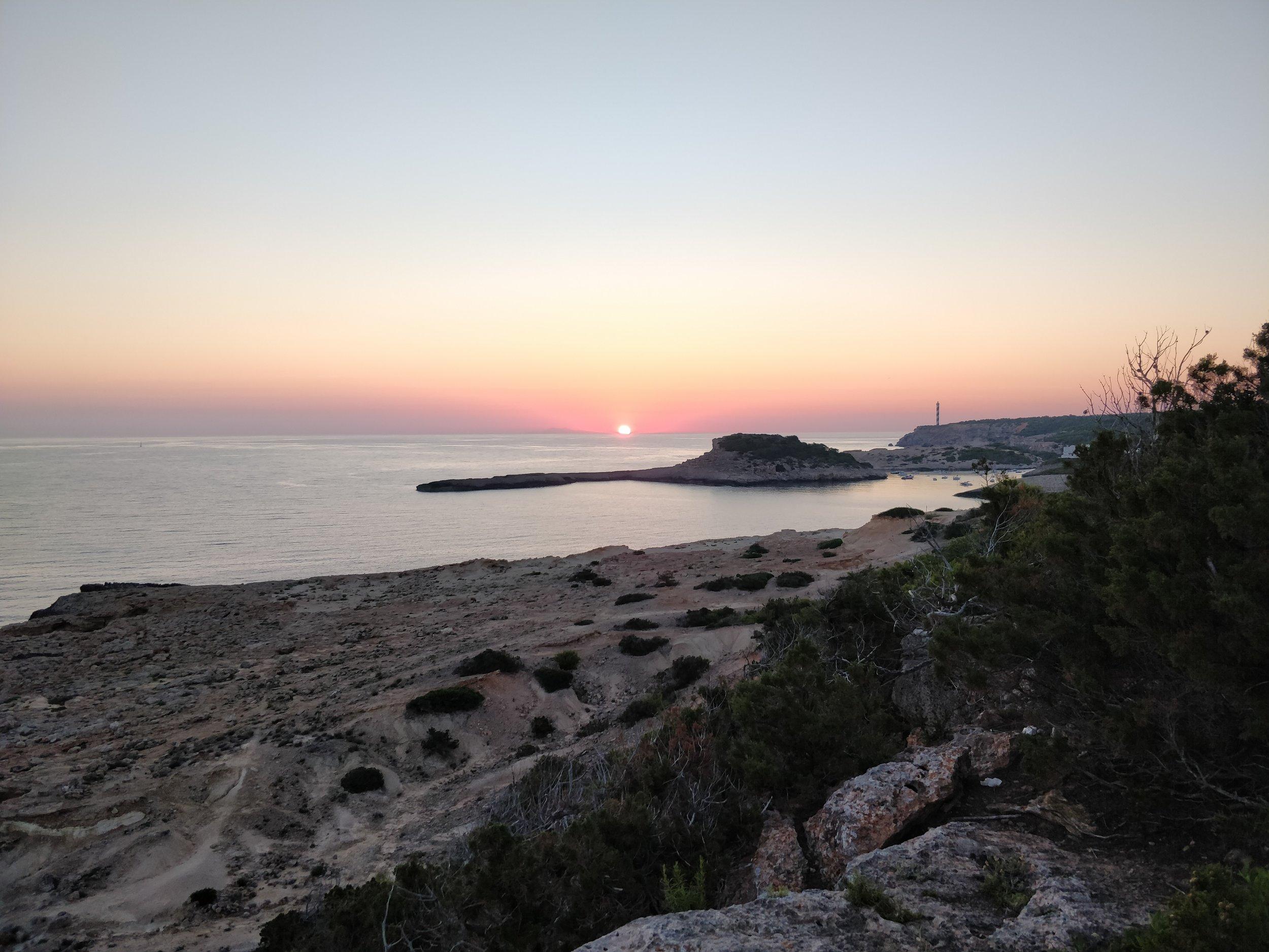 Dawn at Portinatx