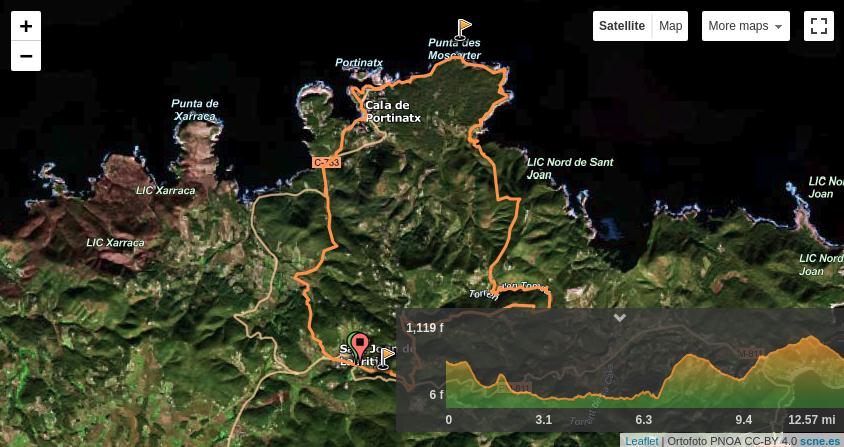 Ruta Norte CxM Route.png