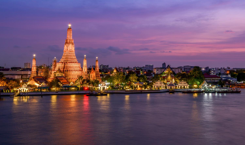 Temple de l'Aube à Bangkok