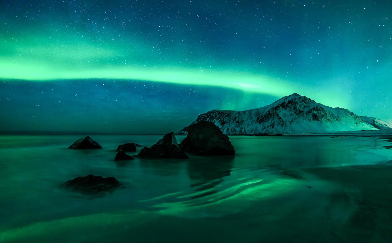 Aurore Boréale sur les Iles Lofoten