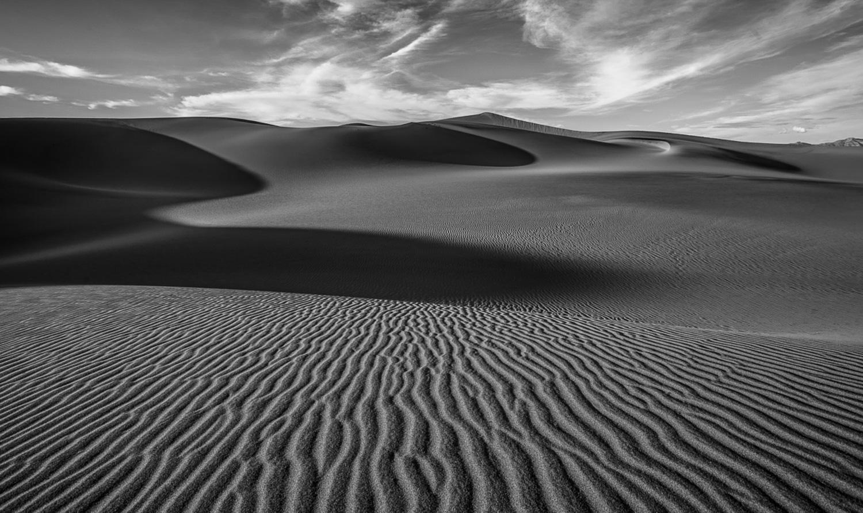 Dans le Désert de Death Valley