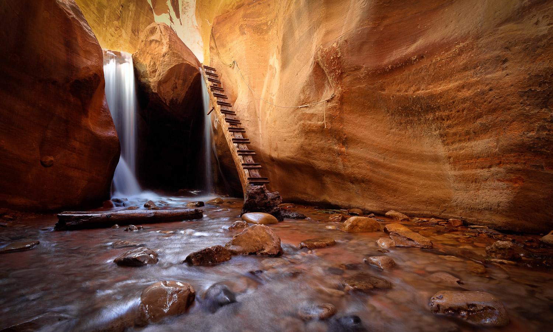 Dans les gorges de Kanarra Creek